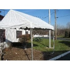 10' x 10' White Framed Tent
