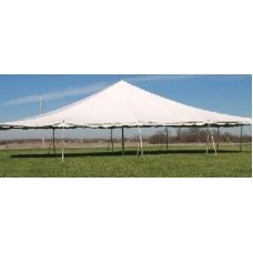20'x40' White Staked Tent