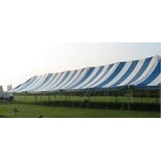 30' x 105' Blue & White Staked Tent