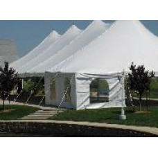 40' x 100' White Staked Tent