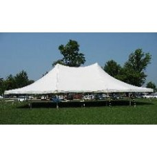 40' x 60' White Staked Tent