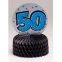 50th Birthday Mini Centerpieces