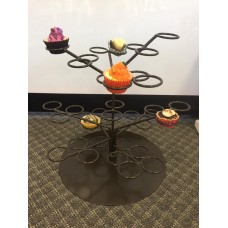Cupcake Tree Stand-Brown