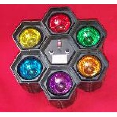 Hexagon Multi-colored Light