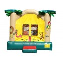 Tropical Jungle Bounce House