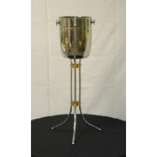 Silver Champagne Bucket - with floor stand