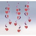 Heart Dizzy Danglers
