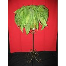 Brass Plant Stand - Round