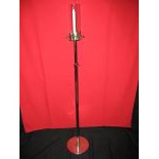 Brass Single Light Candle Stand