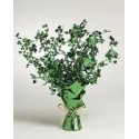 Shamrock Foil Spray Centerpiece