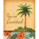 Tropical Palm Invitations