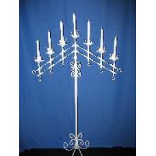 White Candelabra - 7 Light